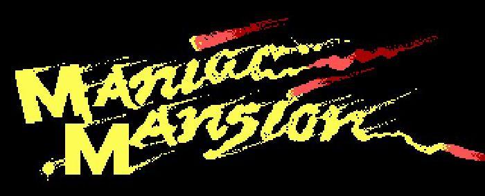 logo maniac mansion
