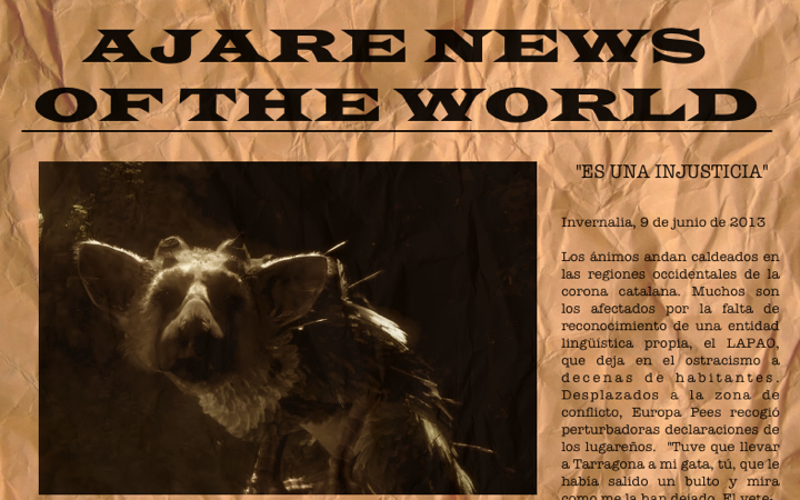 ajare news of the world