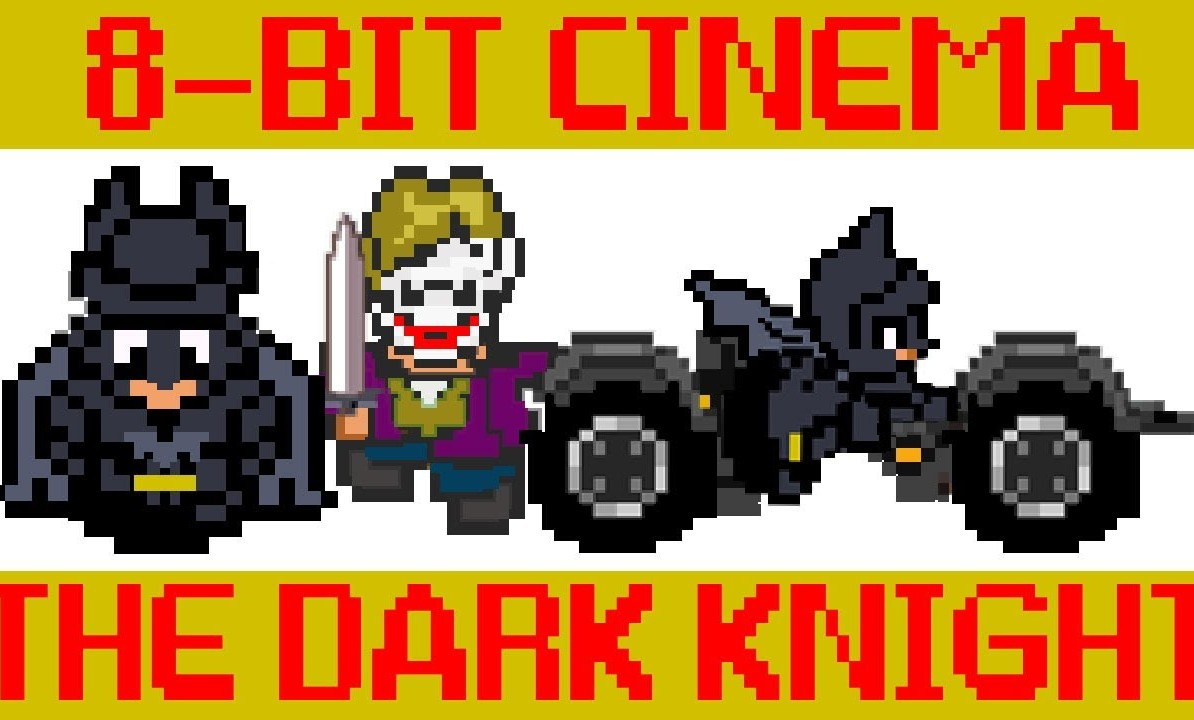 BATMAN THE DARK KNIGHT 8 BIT