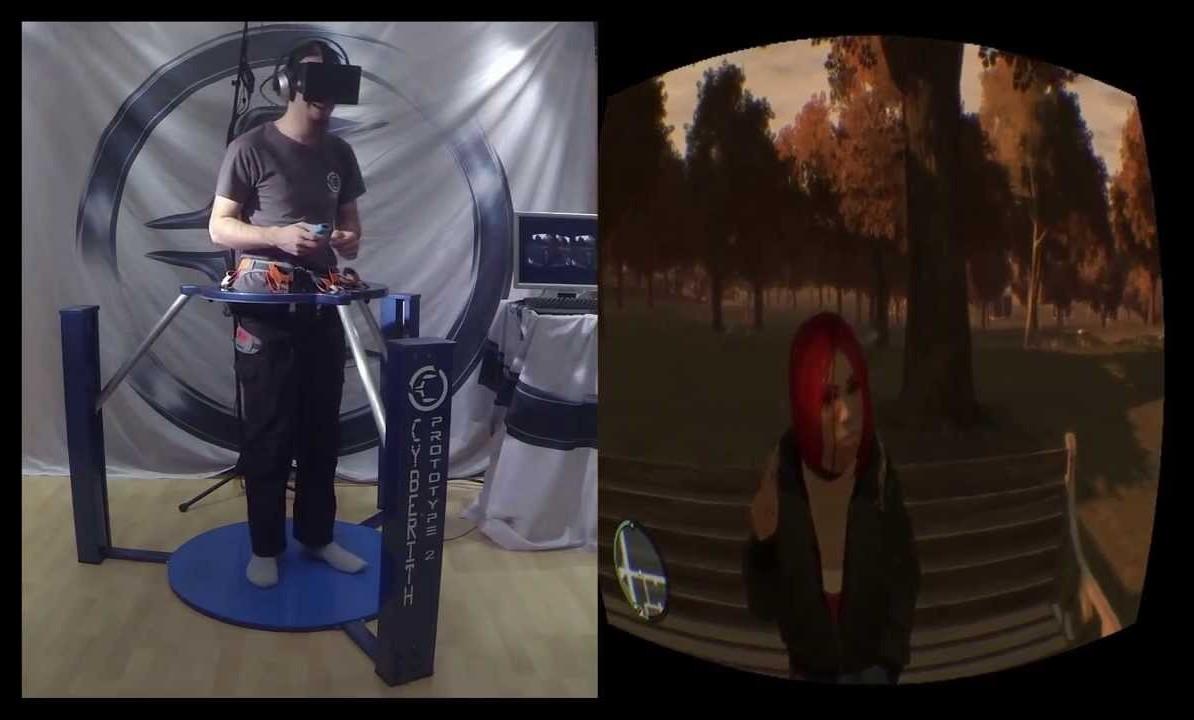 REALIDAD VIRTUAL Y GTA 4 SE DAN LA MANO