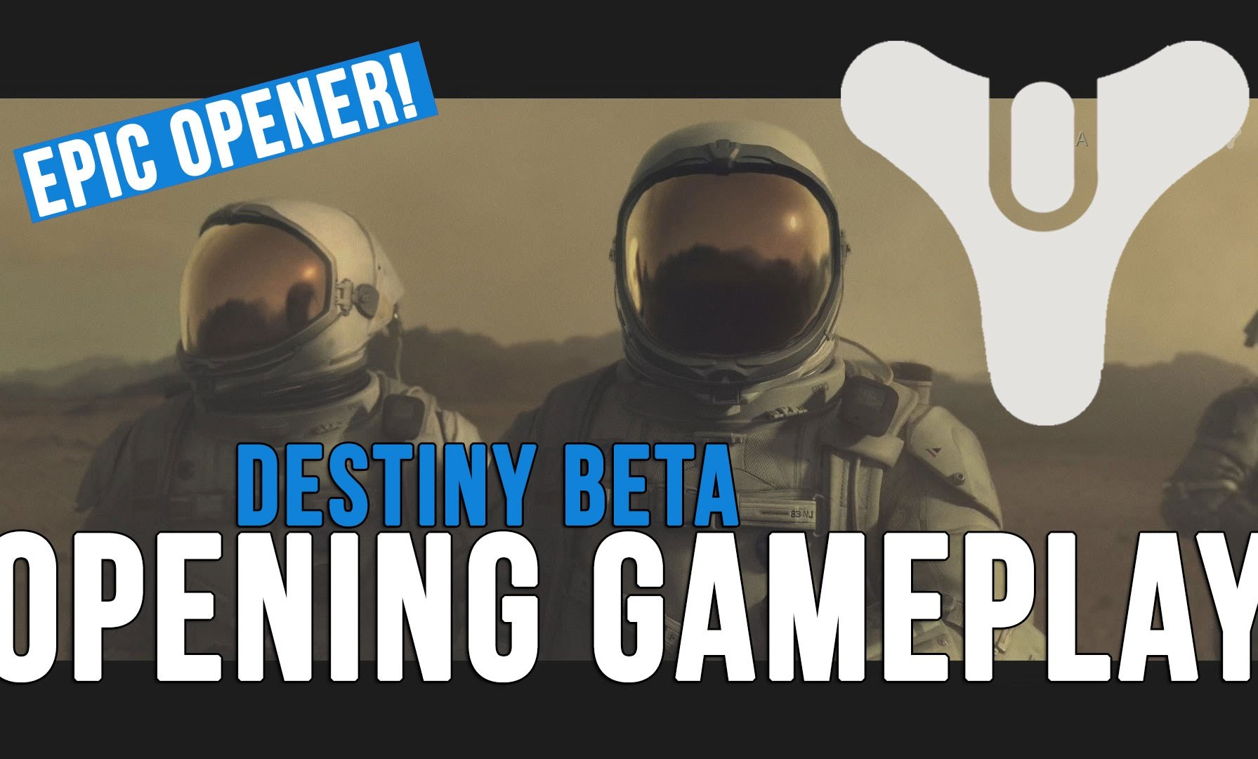 ASÍ ARRANCA LA BETA DE DESTINY