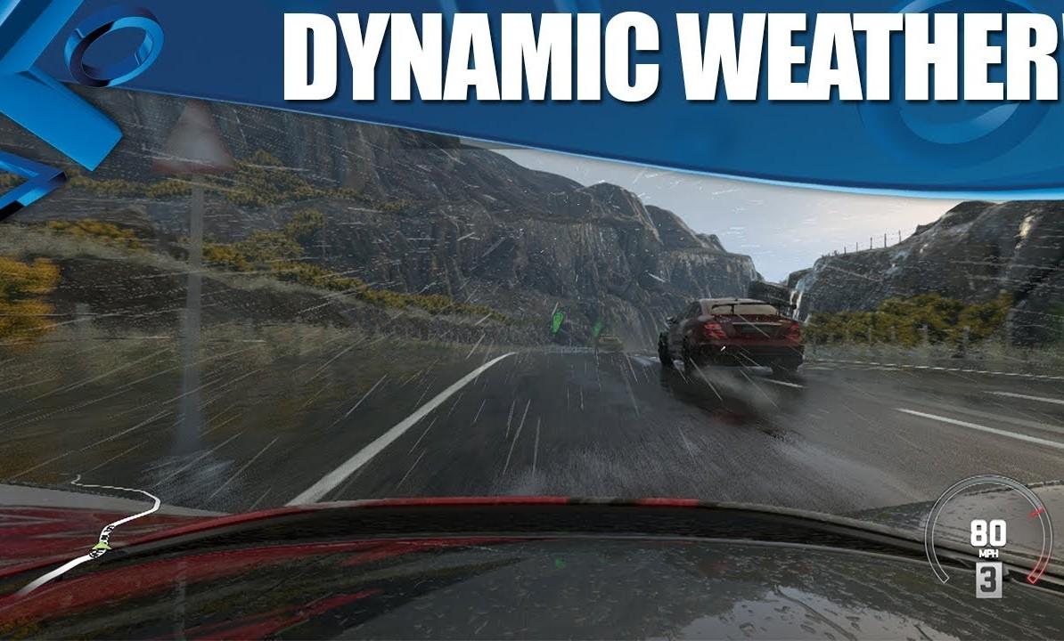 CAMBIOS CLIMÁTICOS DINÁMICOS EN DRIVECLUB