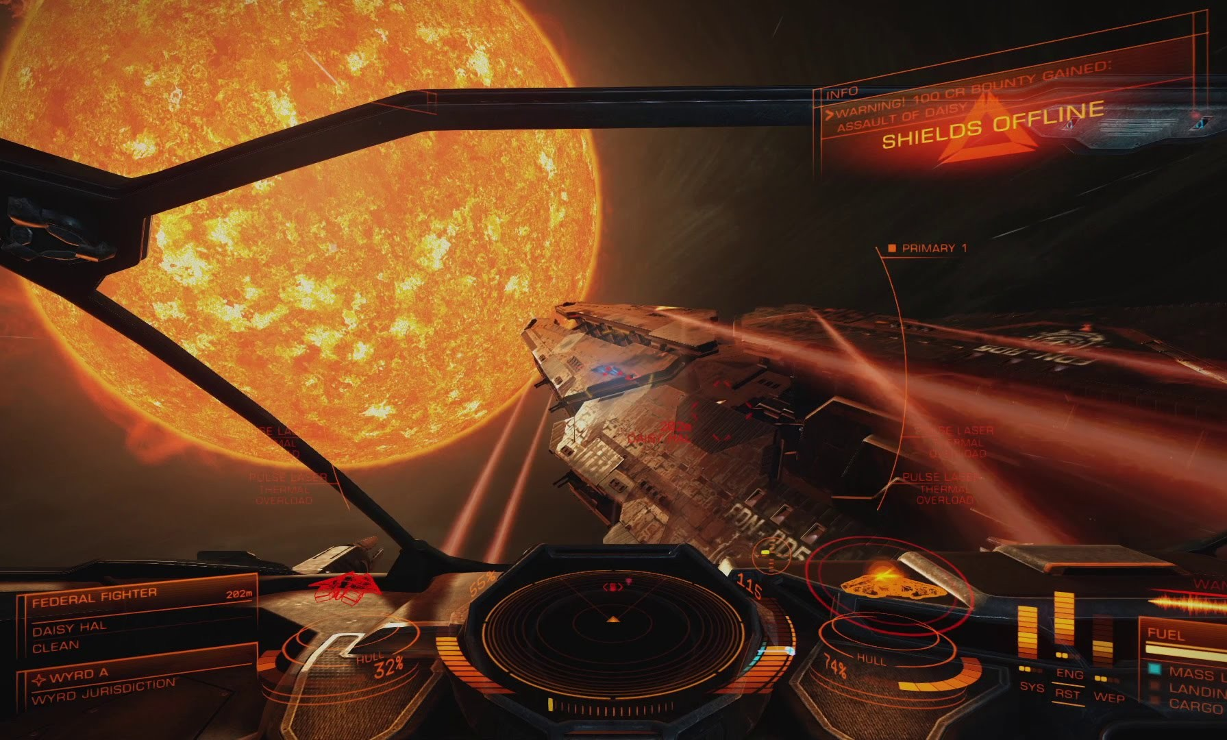 COMIENZA LA BETA DE ELITE DANGEROUS