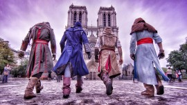 PARKOUR Y ASSASSIN'S CREED UNITY SE DAN LA MANO