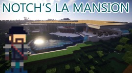LA MANSIÓN DE NOTCH EN MINECRAFT