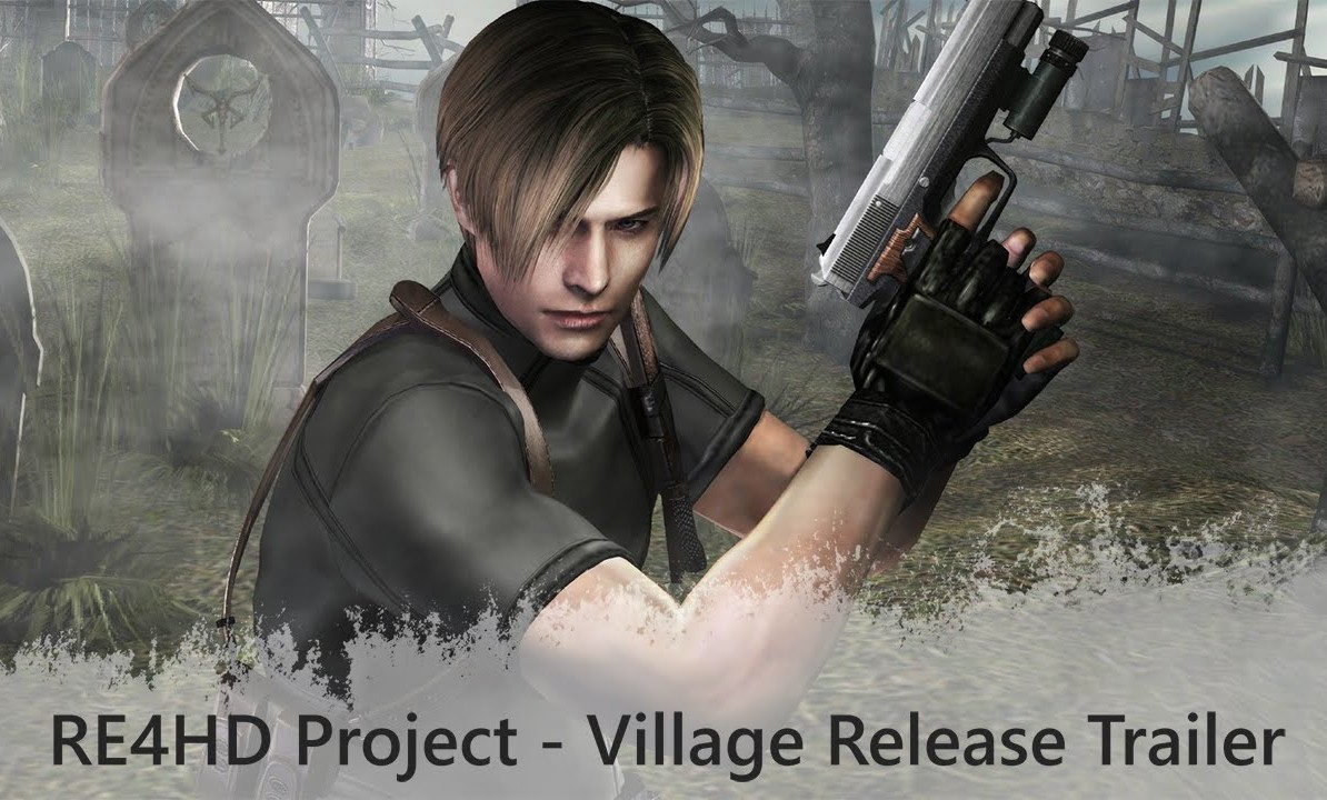 RE4 HD PROJECT YA PUEDE PROBARSE