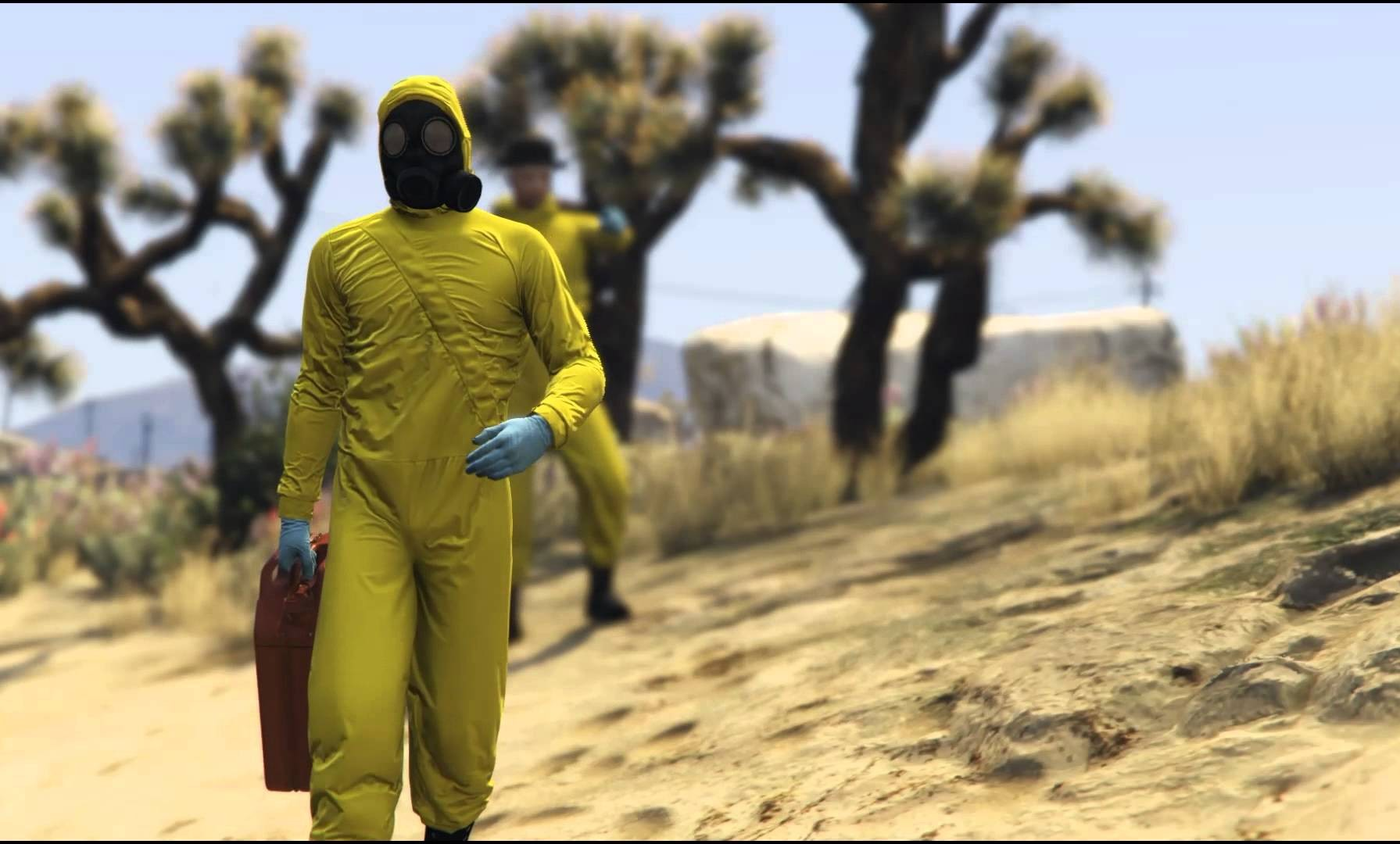 BONITO TRIBUTO A BREAKING BAD EN GTA V