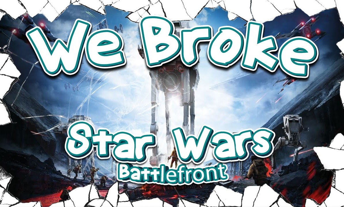 ROMPIENDO STAR WARS: BATTLEFRONT