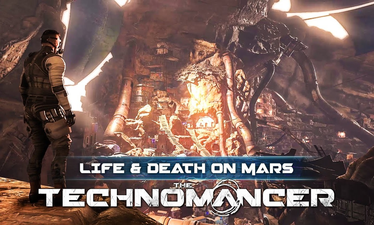 THE TECHNOMANCER: LIFE AND DEATH ON MARS