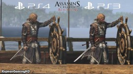 LA DIFERENCIA ENTRE ASSASSIN'S CREED IV DE PS3 Y PS4