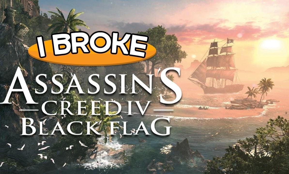 ROMPIENDO ASSASSIN'S CREED IV: BLACK FLAG