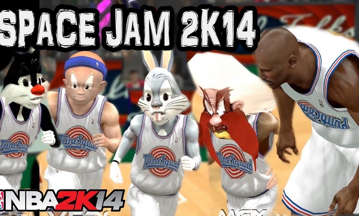 AQUÍ Y AHORA EL MOD DE SPACE JAM PARA NBA 2K14