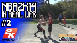 LOS GLITCHES DE NBA 2K14 EN LA VIDA REAL