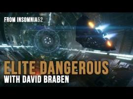 DAVID BRABEN PRESENTANDO LA ÚLTIMA VERSIÓN DE ELITE: DANGEROUS
