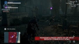 ATRACO COOPERATIVO EN ASSASSIN'S CREED UNITY
