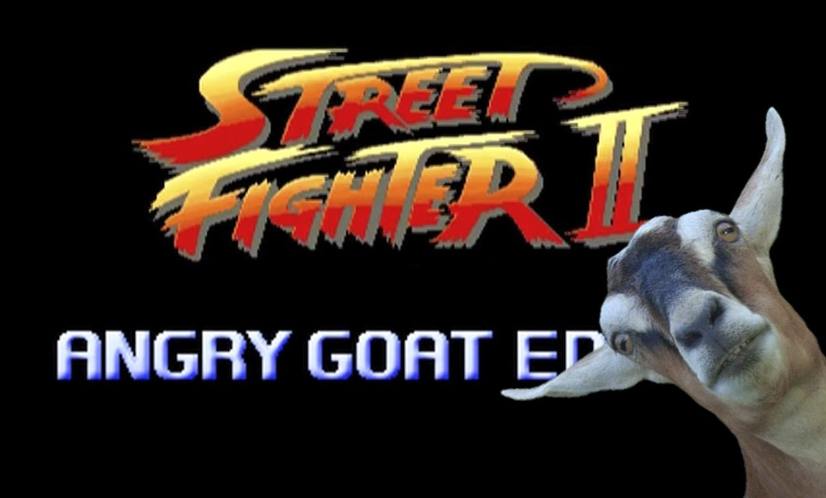 STREET FIGHTER – COMO UNA CABRA EDITION
