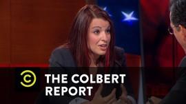 ANITA SARKEESIAN EN THE COLBERT REPORT