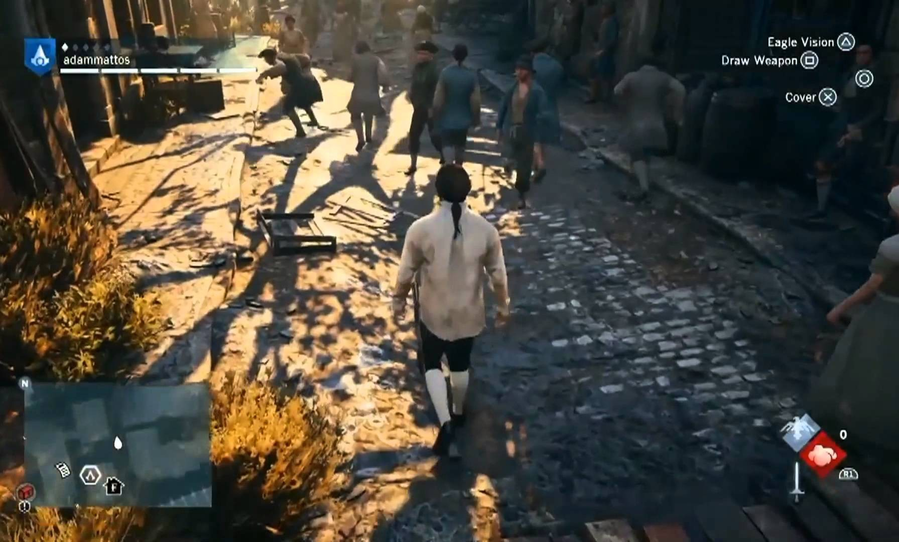 UNA BONITA RECOPILACIÓN DE GLITCHES DE ASSASSIN'S CREED: UNITY