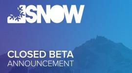 BETA CERRADA DE SNOW EN MARZO