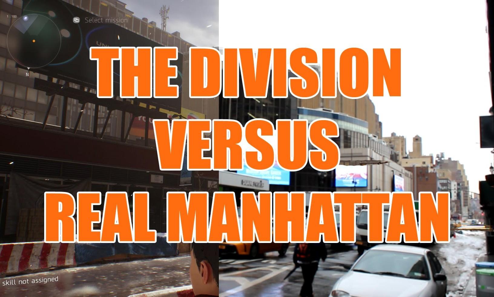 MANHATTAN EN THE DIVISION Y EN LA VIDA REAL